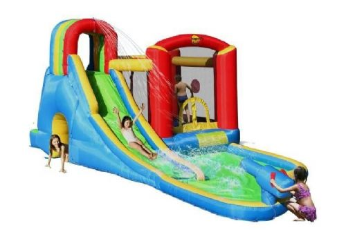 18ft Wave Zone Splash Cannon Bouncy Castle
